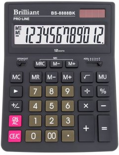 Калькулятор Brilliant (BS-8888BK)