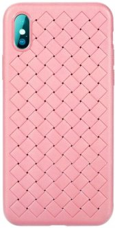Панель ArmorStandart Braid для Apple iPhone X/Xs Pink (ARM50730)