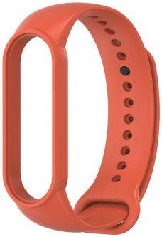 Ремешок MiJobs для Xiaomi Mi Band 6/5 Orange Red (MJ5SS008OR)