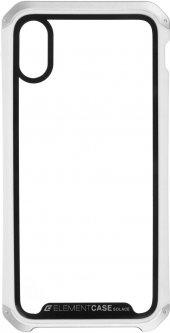 Панель ArmorStandart Element Case для Apple iPhone Xs/X Transparent White/Silver (ARM53419)