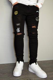 Чоловічі джинси hype drive black розмір S J-030
