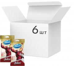 Упаковка влажных салфеток SmileMarvelЖелезный Человек антибактериальных 6 упаковок по 15 шт (42139148_4823071642247)