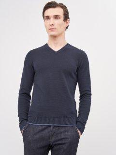 Пуловер Celio Generoso 60028235 S Синий (3596654572972)
