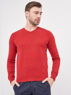 Пуловер Celio Georges 60032887 S Красный (3596654679640)