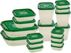 Набор контейнеров Supretto с крышками 17 шт (5783-0001)