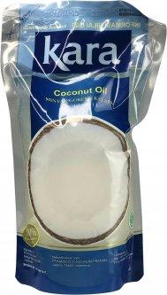 Кокосовое масло Kara кулинарное рафинированное дезодорированное 1 л (8997212611068)