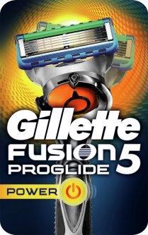 Станок для бритья мужской (Бритва) Gillette Fusion5 ProGlide Power Flexball с 1 сменным картриджем (7702018388646)