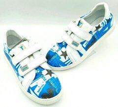 Кеді ортопедичні Bebetom 2107 35 білі із синім