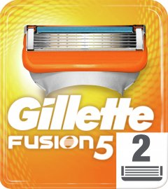Сменные картриджи для бритья (лезвия) мужские Gillette Fusion5 2 шт (7702018877478)