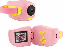 Цифровой детский фотоаппарат Atrix Tiktoker 7 20 Mp 1080p Pink (cdfatxtt7p)