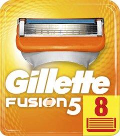 Сменные картриджи для бритья (лезвия) мужские Gillette Fusion5 8 шт (7702018877508)