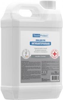 Антибактериальная пена для рук Touch Protect Ионы серебра-Д-пантенол 5 л (4823109402331)