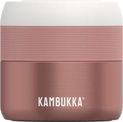 Термос для еды Kambukka Bora 400 мл Misty Rose Розовый (11-06004)
