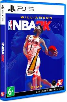 Игра NBA 2K21 для PS5 (Blu-ray диск, English version)