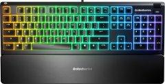 Клавиатура проводная SteelSeries Apex 3 USB ENG/RUS (SS64805)
