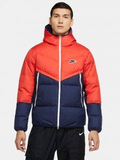 Пуховик Nike M Nsw Dwn Fil Wr Jkt Shld CU4404-673 XS Оранжево-синий (194494630345)