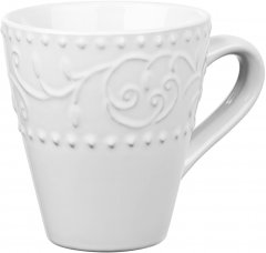 Чашка Ardesto Olbia White Белый 360 мл (AR2936WC)