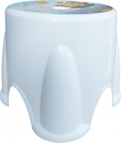 Табурет Irak Plastik Ton Ton №1 27 x 27 x 23 см Белый (6707kmd)