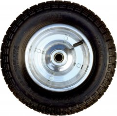 Колесо для тачек Kanat пневматическое с подшипником 350x70мм (SLT-741)