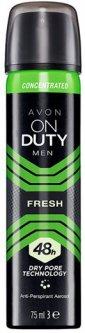 Концентрированный дезодорант-антиперспирант спрей Avon Абсолютная свежесть 75 мл (1307318)(ROZ6400101572)