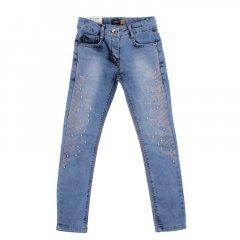 Штани джинсові для дівчинки SERCINO 59873 134 см блакитний (172922)