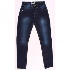 Штани джинсові для дівчинки BREEZE 20141 116 см т-синій (173627)