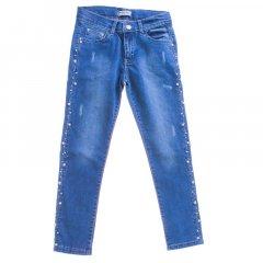 Штани джинсові для дівчинки BREEZE 20155 134 см синій (172826)