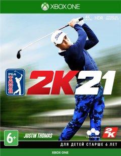 Игра PGA 2K21 для Xbox One (Blu-ray диск, Russian version)