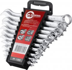 Набор ключей Intertool 22 предмета (HT-1305)