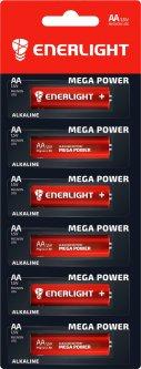 Батарейка Enerlight Mega Power AA MB 6 шт (90060101R) (4823093501911)