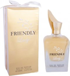 Парфюмированная вода для женщин Fragrance World Friendly Lady 100 мл (6291106484403)