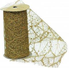 Лента декоративная Jumi с узором 11.3 см 3 м Золотистая (5900410381018)
