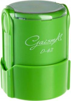 Оснастка для круглой печати d 42 мм Gaisma D-42 зеленый корпус с крышкой (482021201001905)