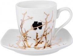Кофейный набор Lefard Золотые совушки 2 предмета 75 мл (924-657)