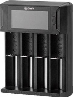 Зарядное устройство Westinghouse LBC-318-HCB с ЖК-дисплеем для Li-ion, NiMH, NiCd (USB) для 4-х аккумуляторов (889554060032)