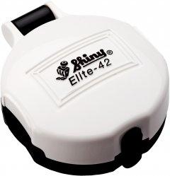 Карманная оснастка для печати d 42 мм Shiny El-42 cо сменной подушкой корпус белого цвета (4710850094215)