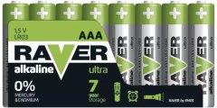 Батарейка Raver by Emos B79118 AAA Alkaline BLI 8 шт (B79118)