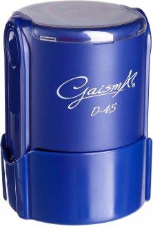 Оснастка для круглой печати d 46 мм Gaisma D-46 синий корпус с крышкой (482021201005703)