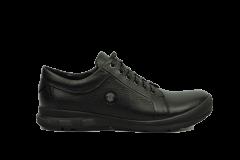Полуботинки мужские Bertoni 42 черный (11030/42/ЦО0002684)