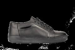 Кеди чоловічі Bertoni 43 чорний (F31500/43/ЦО0002684)