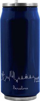 Термокружка Krauff 400 мл Синяя (26-178-069)