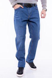 Джинси чоловічі класичні Time of Style 148P001 36 Світло-синій