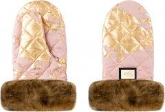 Рукавицы для коляски Bjallra of Sweden Pink Golden (8069875)
