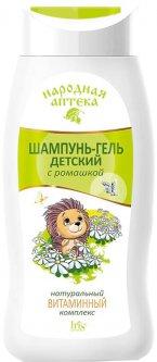 Шампунь-гель Iris Cosmetic Народная аптека с ромашкой и натуральным витаминным комплексом 300 мл (4810340006497)