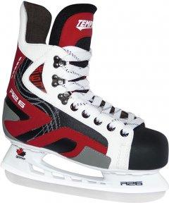 Коньки хоккейные Tempish Rental R26 39 Черно-красно-белые (1300000205/39)