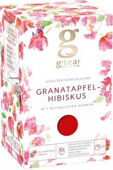 Травянисто-ягодная смесь G'tea Гранатовое каркаде 1.75 г х 20 шт (5060207699235)