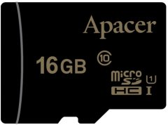 Apacer microSDHC 16GB UHS-I Class 10 (AP16GMCSH10U1-RA)