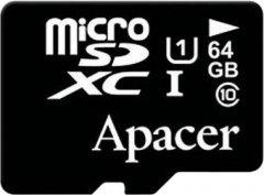 Apacer microSDXC 64GB UHS-I Class 10 (AP64GMCSX10U1-RA)