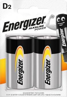 Батарейка Energizer Alkaline Power D/LR20 2 шт (7638900297331)