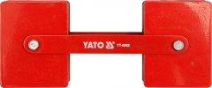 Магнитная струбцина для сварки YATO 85 х 65 х 22 мм 2 x 22.5 кг (YT-0862)